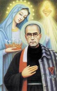 Znalezione obrazy dla zapytania św. maksymilian kolbe